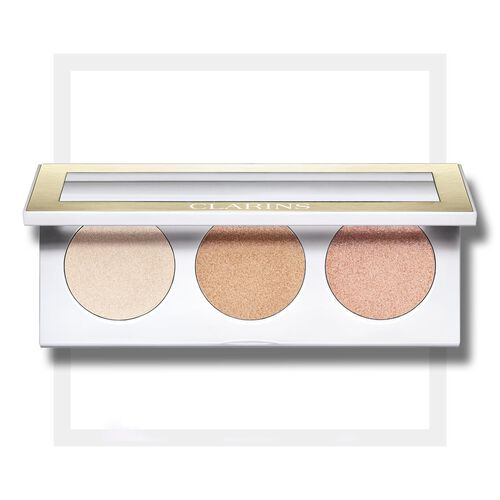 Highlighter Palette for Face and Décolleté Палитра хайлайтеров для лица и декольте