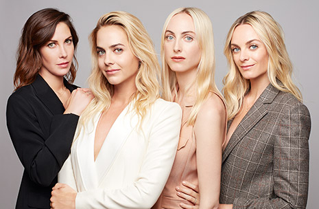 Photo Claire, Jenna, Prisca et Virginie Courtin-Clarins